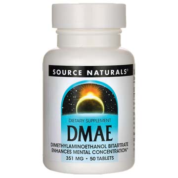 DMAE - 351 mg | Dimethylaminoethanol Bitartrate