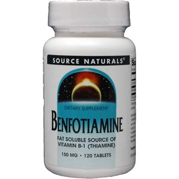 Benfotiamine 150 mg Fat Soluble Vitamin B-1 (Thiamine)