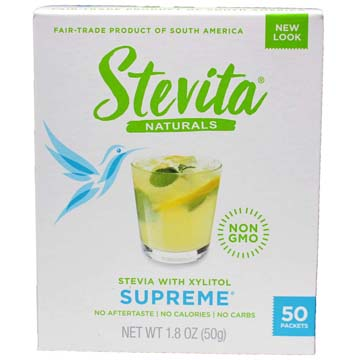 Stevita® Stevia Supreme - Single Serving Packets