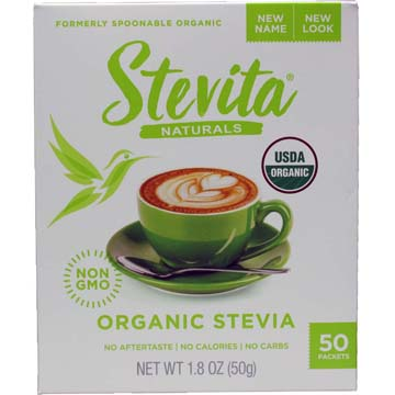 Stevita® Spoonable Stevia™ Single-Serve Packets