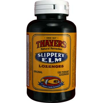 Throat Lozenges Slippery Elm Original