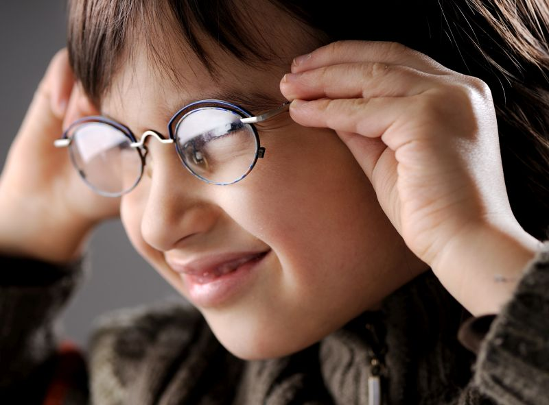 Children's Eyesight Merits Full Observation