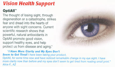 OptiAll Vision Health Support