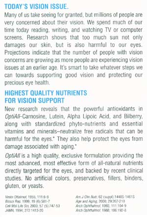 OptiAll - Today's Vision Issue
