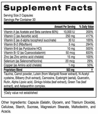 Supplement Facts Box
