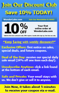 WonderLabs Vitamin and Health Newsletter